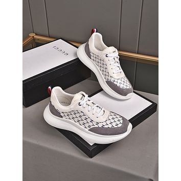 Gucci2021 Men Fashion Boots fashionable Casual leather Breathable Sneakers Running Shoes09160gh