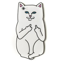 "Cute 3D Cartoon Animal RIPNDIP cat white Silicone Soft Back Case Cover For apple iPhone 6 6s (4.7"")"