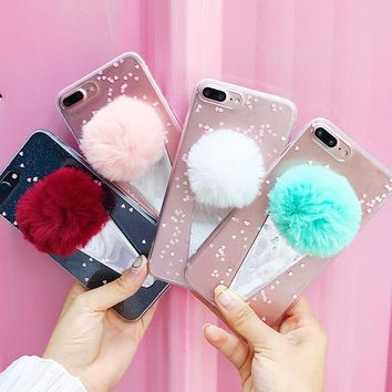 Luxury Bling Transparent glitter Powder Phone Case