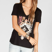 Hurley Master Pocket Womens Tee Black  In Sizes