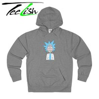 rick and morty Hoodies for men