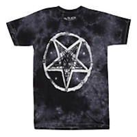Pentagram Mineral Wash Girls T-Shirt | Hot Topic