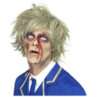 Zombie Wig Costume Accessory Adult Halloween