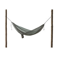 Forest Green Ultralight Hammock With S Hooks For Easy Hanging