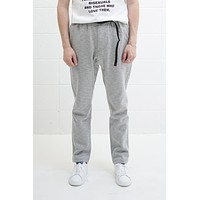 Coolmax Knit NN-pants Tight Fit Heather Grey