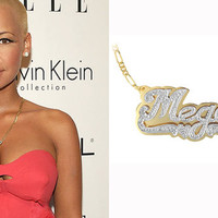 Celebrity Style Name Necklace Order Any Names by KetiSorelyDesigns
