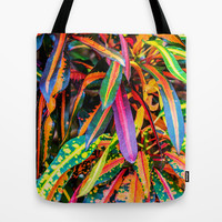 SIMPLY LEAVES Tote Bag by Catspaws | Society6