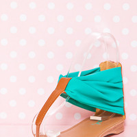 Cupid Sandals - Turquoise*FINAL SALE!*