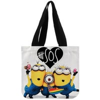 Despicable Me Minion 5 seconds of summer - Totebags