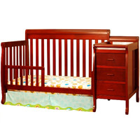 AFG Kimberly 4-in-1 Convertible Crib and Changer Combo
