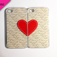 I Love You Stitches iPhone 5 cases by VanityCases on Etsy
