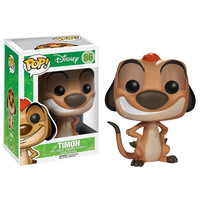 Funko POP! Disney - Vinyl Figure - TIMON (The Lion King) (Pre-Order ships Sept.): BBToyStore.com - Toys, Plush, Trading Cards, Action Figures & Games online retail store shop sale
