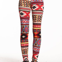 TRIBAL PATCHES LEGGINGS