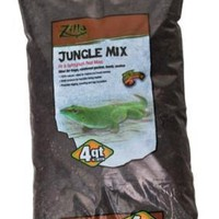 Zilla Jungle Peat Moss Reptile Bedding Mix 4qt