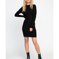 Latte Long Sleeve Bodycon Dress | RVCA