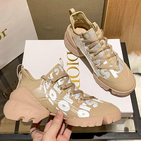 Christian Dior (fluorescence) D-CONNECT SNEAKER Shoes