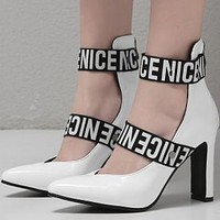 The new hot - selling microfiber stilettos with pointy non-slip tops shoes