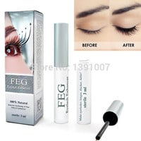 Eyelash enhancer serum 100% Original FEG eyelash growth treatment FEG eyelash enhancer eyelash liquid