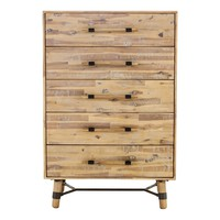HUDSON 5 DRAWER CHEST