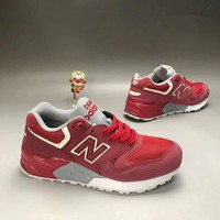 """""""New Balance 580"""" Men Sport Casual N Words Scrub Leather Surface Retro Sneakers Running Shoes"""