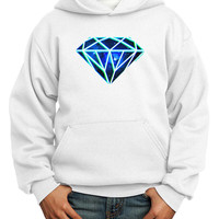 Space Diamond Youth Hoodie Pullover Sweatshirt