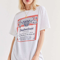 Junk Food Budweiser Classic Tee | Urban Outfitters
