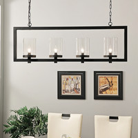Emmit Four-Light Chandelier