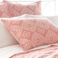 Ramala Coral Duvet Cover design by Pine Cone Hill