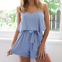 2016 Summer The New fashionm Sling Rompers