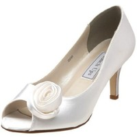 Touch Ups Women`s Dakin Pump,White,8 M US