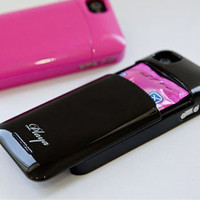Cool pink Drawer Hard Cover Case For Iphone 4/4s