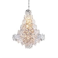 Hexagonal Glass Chandelier | Eichholtz Hermitage S