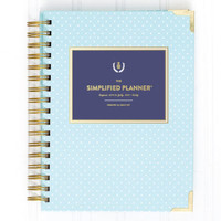 Emily Ley Simplified Planner, Mint Dot