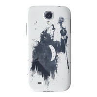 Wolf Song 3 Full Wrap High Quality 3D Printed Case for Samsung Galaxy S4 by Balazs Solti