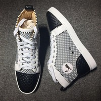 Cl Christian Louboutin Style #2136 Sneakers Fashion Shoes