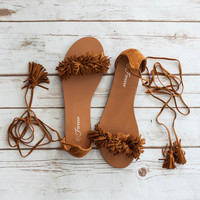 Annie Lace Up Sandal
