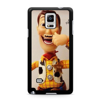 Toy Story Woody Mustache Samsung Galaxy Note 4 case