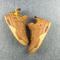 Nike Air Jordan Retro 4 Wheat