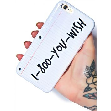 YOU WISH IPHONE 6 CASE