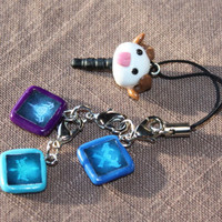 Triple Poro Allegiances - League of Legends Polymer Phone Charm
