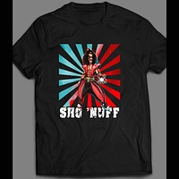VINTAGE THE LAST DRAGON SHO NUFF POP ART MENS SHIRT