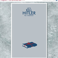 Doctor Who Poster: Let's Kill Hitler - Science Fiction Art Print