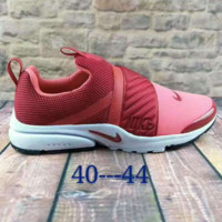 NIKE contrast Trending Fashion Casual Sports Shoes wine red
