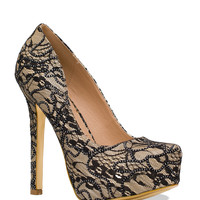 Madeline Lace Pumps