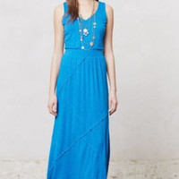 NWT ANTHROPOLOGIE by DOLAN SAPPHIRE DAY MAXI DRESS M