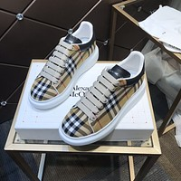 Alexander McQUEEN2021 Woman's Men's 2020 New Fashion Casual Shoes Sneaker Sport Running Shoes08150gh