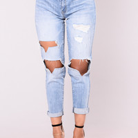 My Boyfriend's Jeans - Medium