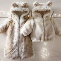 Luxe Faux Fur Bunting