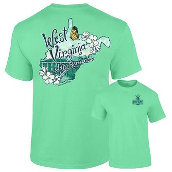 Southernology West Virginia Mountain State Comfort Colors T-Shirt