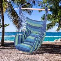 Hanging Hammock Swing Chair with Pillows
